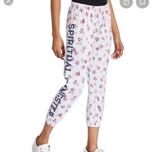 floral spiritual gangster sweats